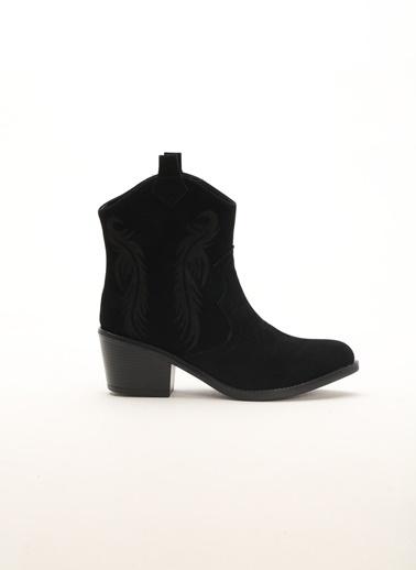 Shoes1441 Çizme Siyah